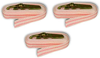 Creative Hobbies BST8 Banding Straps for Plaster Molds and Other Banding Applications, 8 Feet Long, Pink, Pack of 3 Straps