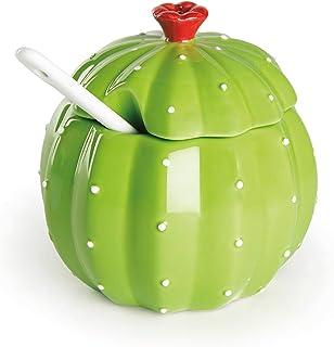 Ceramica Excelsa Cactus Teiera Verde Scuro 650 Ml
