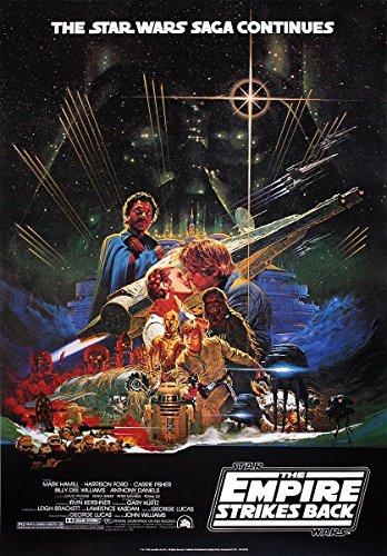 Póster Star Wars 'The Empires Strikes Back/El Imperio contraataca' (68,5cm x 101,5cm) + embalaje para regalo