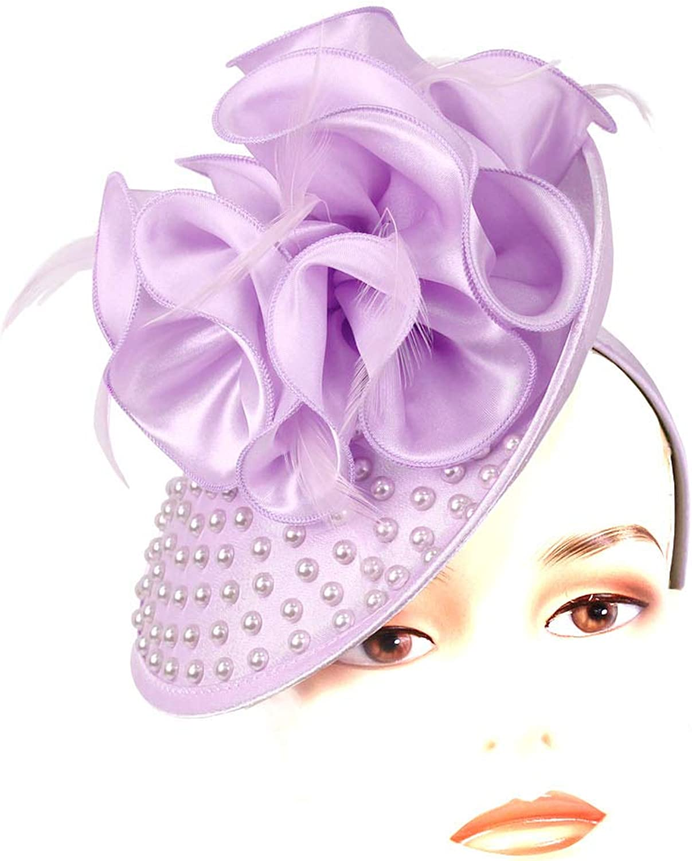 Ms. Divine Collection Women's Fascinator Church Hats - HL108