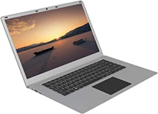 Nrpfell Ordenador PortáTil de 15,6 Pulgadas 4G 64GB SSD PortáTil Ultrafino PortáTil HD Quad Core Notebook Enchufe de la UE