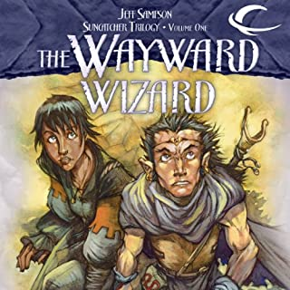 The Wayward Wizard audiobook cover art