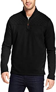Mens Mountain Wash 1/4 Zip Fleece Pullover Sweater