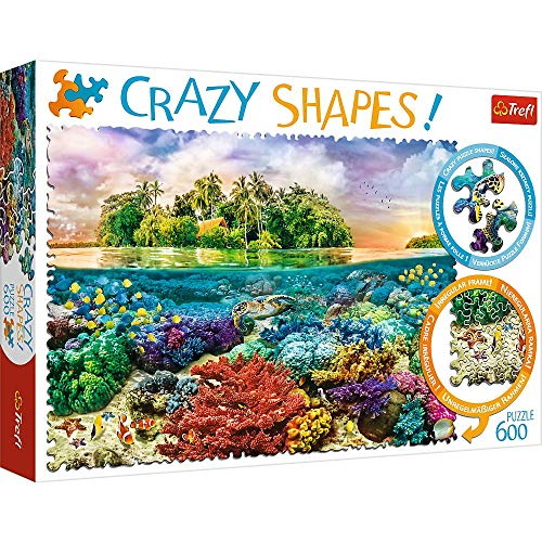 Trefl 11113 Crazy Edition - Puzzle de Colores