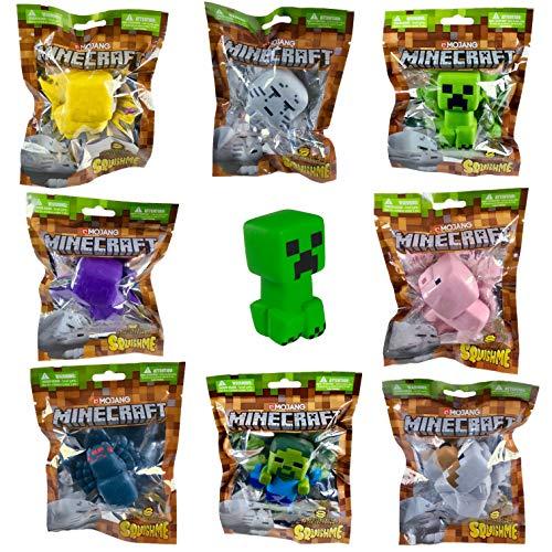 Minecraft Squishme Serie 1, 1 Figure von 8 Möglichen