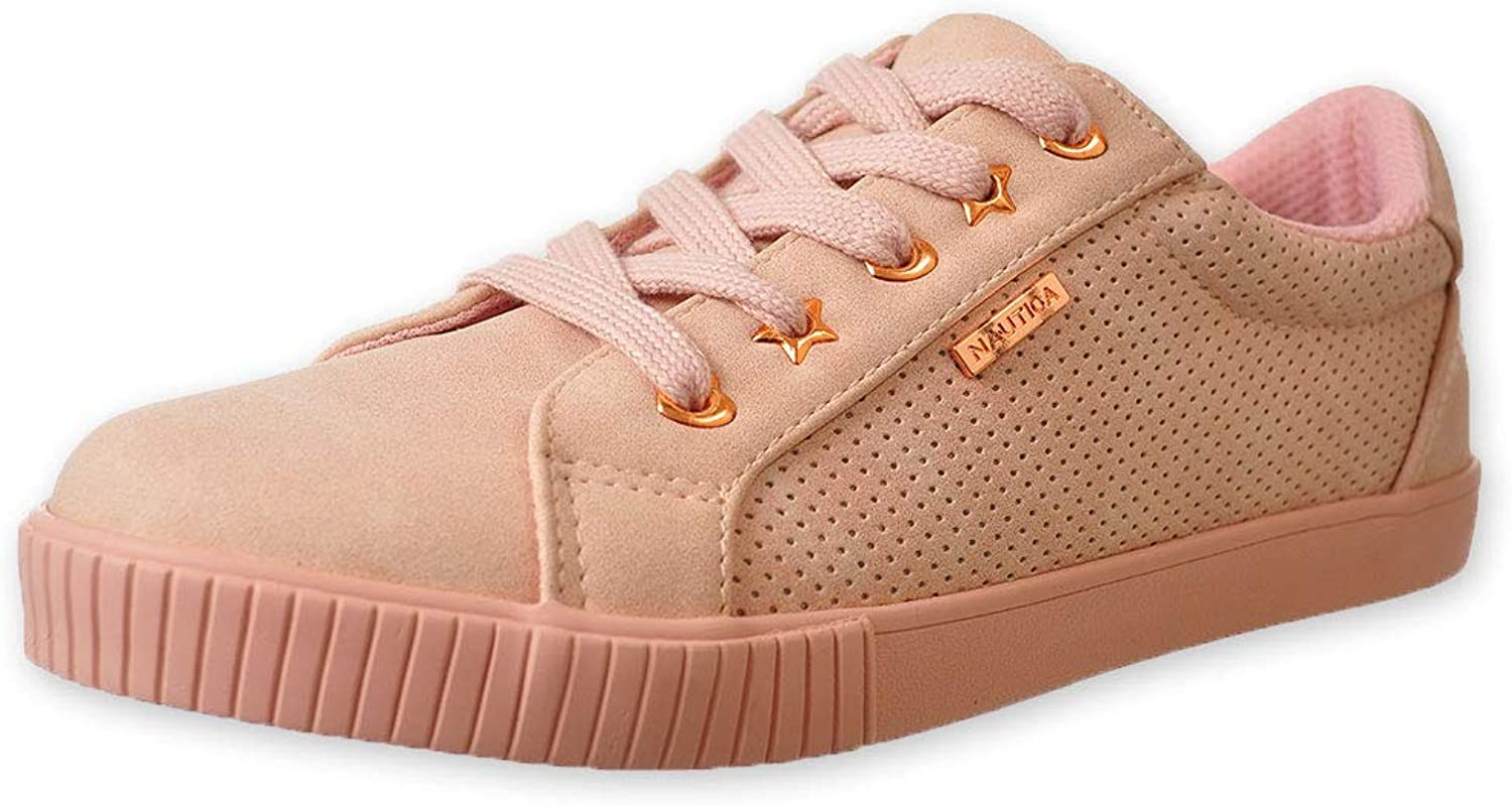 Nautica Girls' Steam LowTop Sneakers