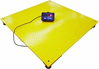 Heavy Duty 5,000 lb Floor Scale | 40x40 with Indicator