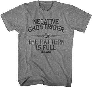 Top Gun – Camiseta para hombre con diseño de ghostrider negativo
