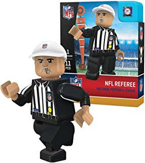 OYO NFL No Team Gen4 Limited Edition Referee Mini Figure, Small, White