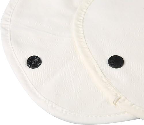 Larcele 2packs Organic Teething Drool Chew Pads for Baby Carriers KSJ-01