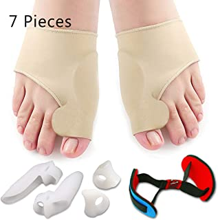 Bunion Corrector & Bunion Relief Protector Sleeves Kit – Treat Pain in Hallux..