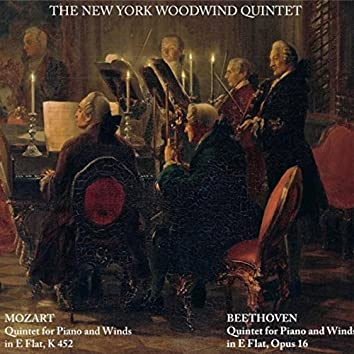 Mozart: Quintet for Piano and Winds in E Flat, K452 - Beethoven: Quintet for Piano and Winds in E Flat, Op. 16