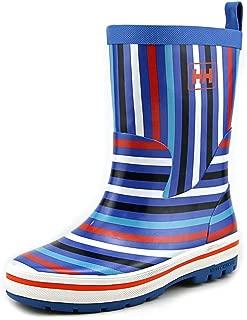 Kid's Midsund Graphic Rain Boots, Blue Rubber, 25 EU / 9 US M