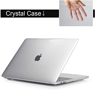 Print Unique Light Bulb Laptop Case for MacBook Air Pro Retina 11 12 13 15 inch with Touch Bar + Keyboard Cover,Clear,Model A1708