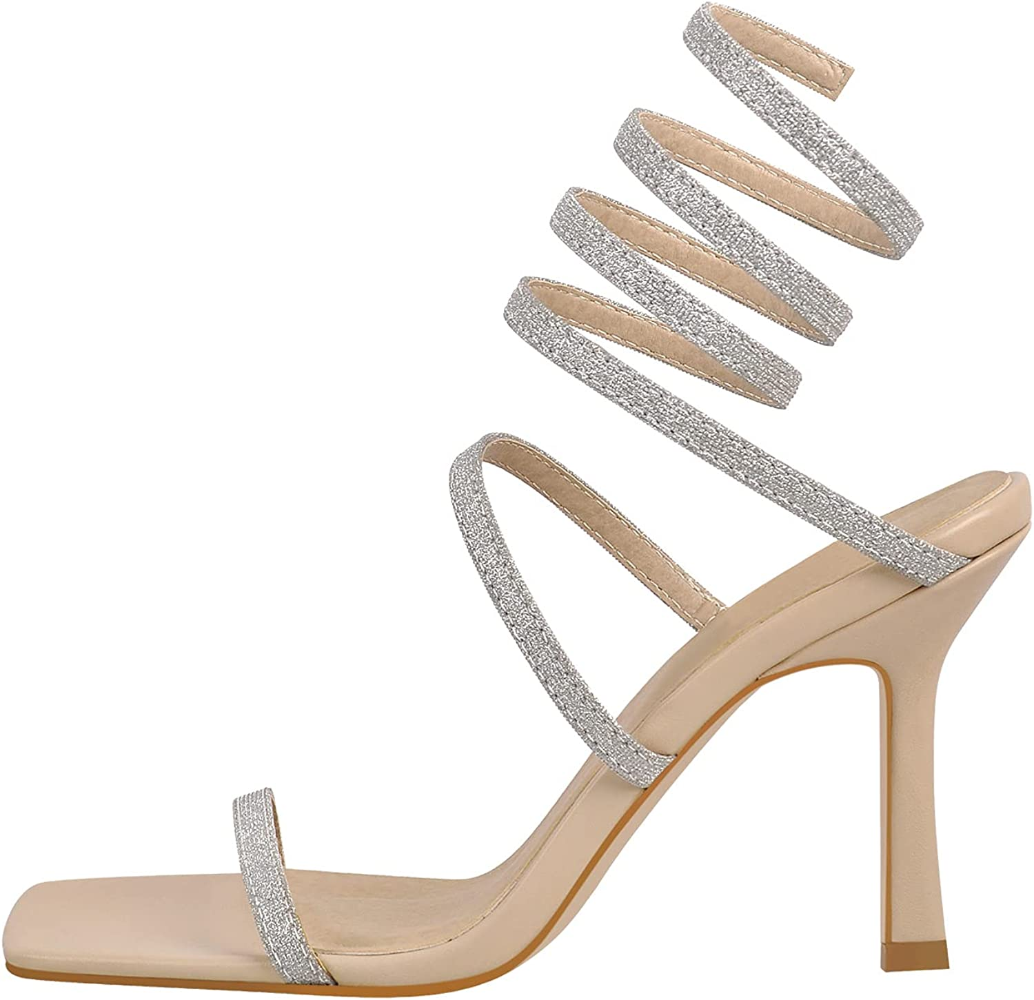 PINOKISS Women's Square Open toe High Heel Gifts On Sandals Free Shipping New Pull