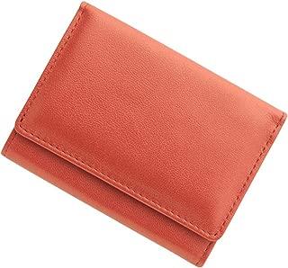 極小財布 シープスキンメタリック/羊革 BECKER(ベッカー)日本製 ミニ財布/三つ折り