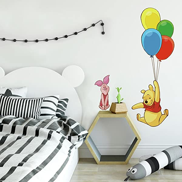 RoomMates Winnie The Pooh Piglet Peel And Stick Giant Wall Decal
