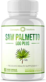 Sponsored Ad - Saw Palmetto 600mg Prostate Support - Plus Phytosterols for Healthy Urination Frequency, Prevent Hair Loss ...