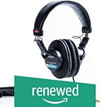 Sony MDR7506 Professional Large Diaphragm Headphone (Renewed)