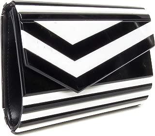 's Square Box Clutch Chain Strap Crossbody Purse Evening Handbag Bag