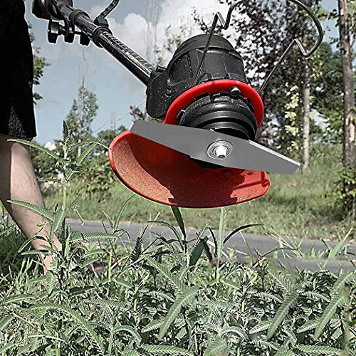 Aozu 42V 9000MA Battery Grass Trimmer, 1800W Powerful Electric Strimmers with Metal Blade,Telescopic Cordless Garden Edger Cutter Garden Lawn Mower,15 cm Cutting Width