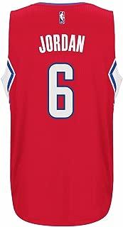 adidas Deandre Jordan Los Angeles Clippers Swingman Jersey Red