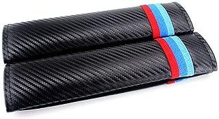 LLJ 2pcs Customization Carbon Fiber Seat Belt Cover Shoulder Pad Cushion