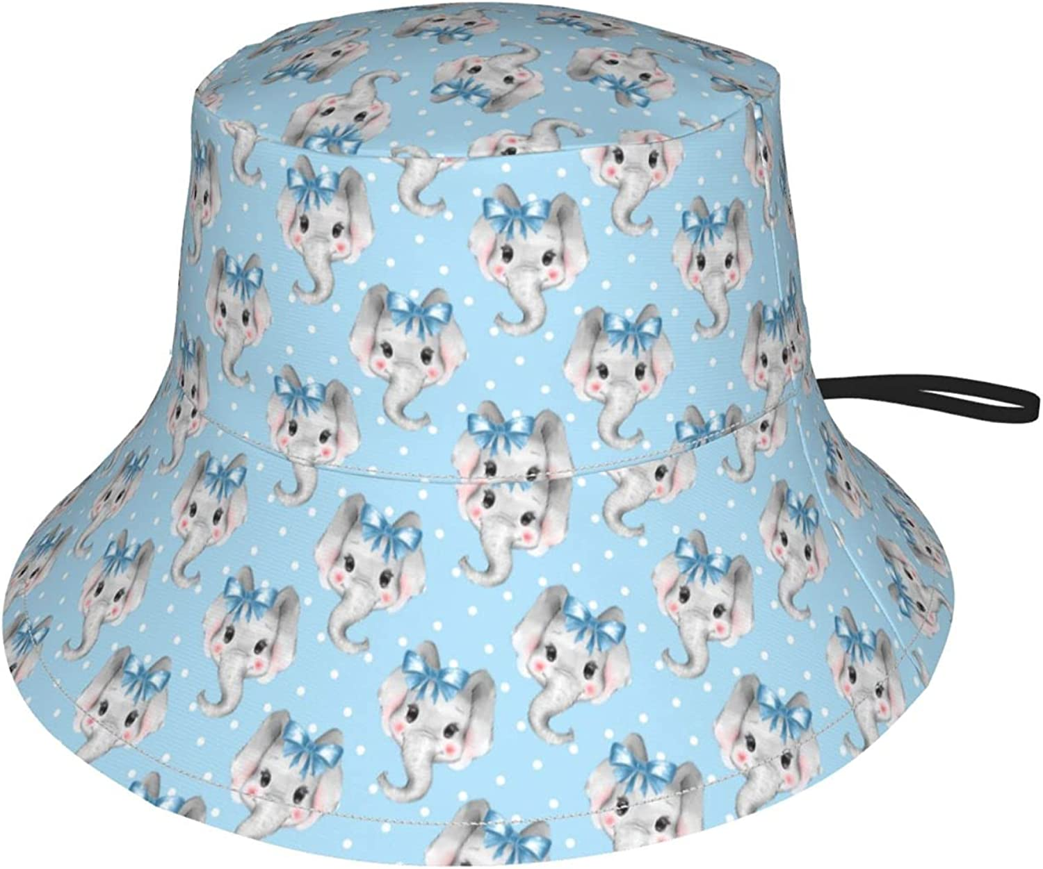 Jedenkuku Limited Special Price Blue Bow with Elephant Dot Polka Face Children's Fort Worth Mall
