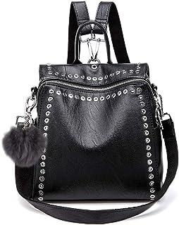 JOSEKO Bolso de lona para mujer bolso de mano - JOSEKOfrPMo154 gran capacidad Negro bolso de hombro Black vintage con patr/ón de gato