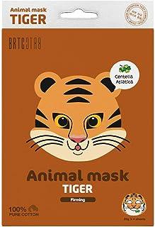 BRTC Moisturizing, Brightening, Calming, Firming Cute Animal Print Sheet Face Masks - K Beauty, Made in Korea (Firming-Tig...