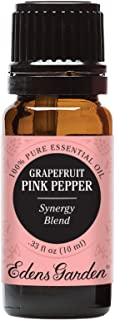 Edens Garden Grapefruit Pink Pepper Essential Oil Synergy Blend, 100% Pure Therapeutic Grade (Highest Quality Aromatherapy Oils- Detox & Energy), 10 ml