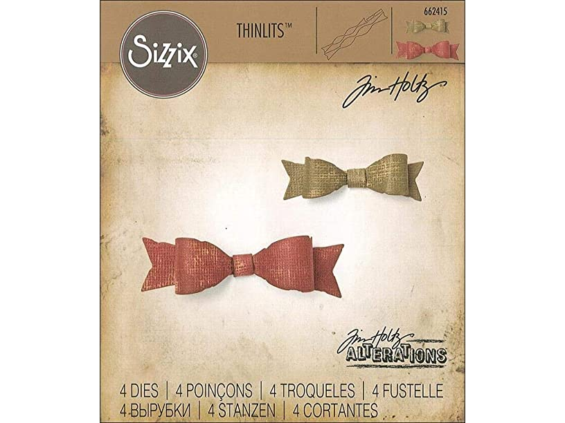Sizzix Tholtz Thinlits Die Fold-up Bows TH