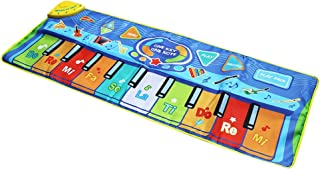 Perfeclan Piano Musical Mats, Kids Children Touch Play Game Dance Music Blanket Carpet Mat Activity Gym, Boys Girls Baby Early Educational Toy