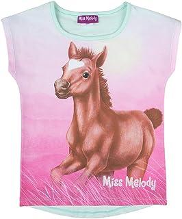 Miss Melody niñas T-Shirt, Camiseta, Menta