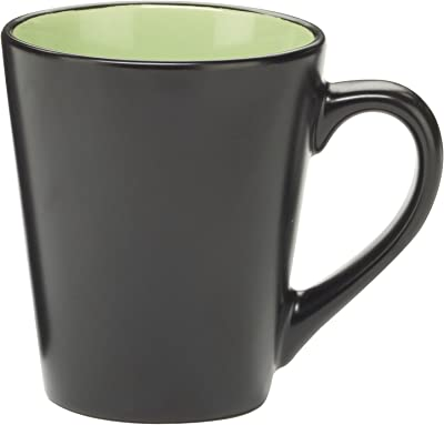 Cuisinart Melle Collection Stoneware Open Stock Round Mug, 350ml, Green