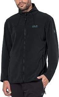 Jack Wolfskin Men`s Essential altis Jacket, Small, Black