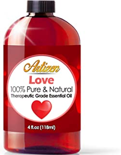 4oz - Artizen Love Blend Essential Oil (100% Pure & Natural - UNDILUTED) Therapeutic Grade - Huge 4 Ounce Bottle - Perfect for Aromatherapy