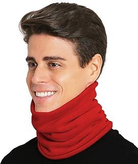 Tough Headwear Kids Neck Warmer - Fleece Neck Gaiter Face Mask Cover - Winter Ski Tube Scarf for Boys & Girls - Child Cold...