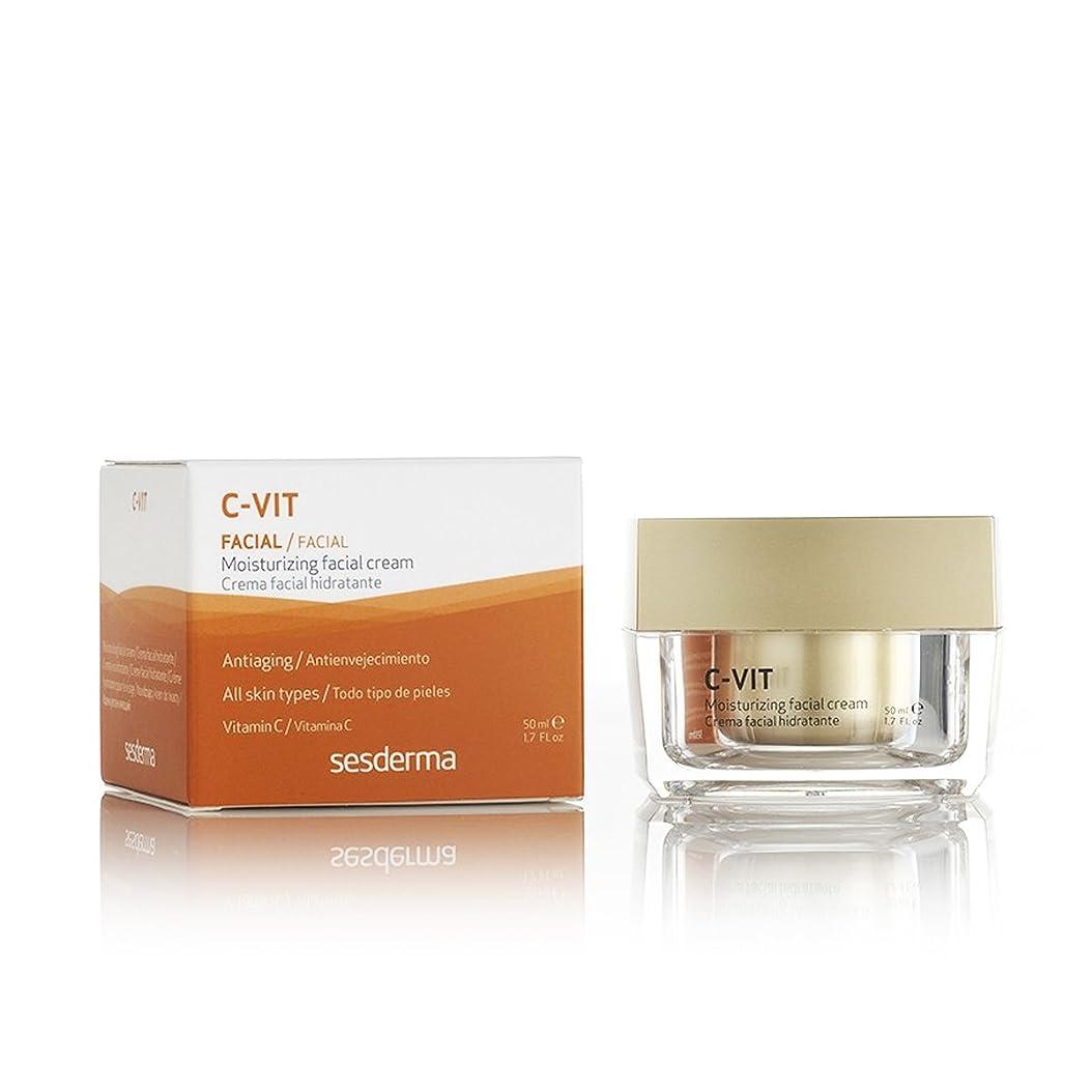 ハーネス数学意気揚々Sesderma C-vit Facial Moisturizer Cream 50ml [並行輸入品]