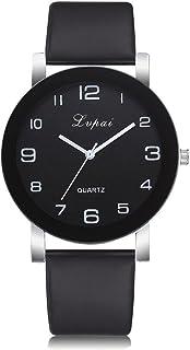 Makifly Watches Women's Casual Simple Analog Quartz Wrist Watches Leather Band Watch Charm Bracelet Watch Reloj Mujer Clock Relogio Feminino Gift