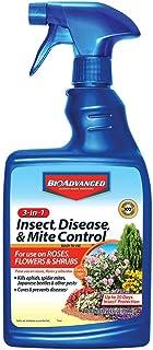 BioAdvanced 701290B Insecticide Fungicide Miticide 3-in-1 Insect, Disease & Mite Control, 24 oz