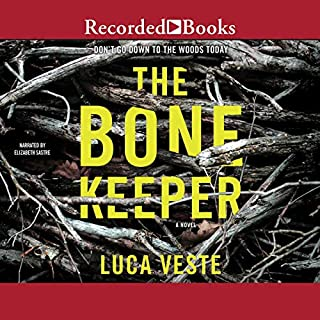 The Bone Keeper audiobook cover art