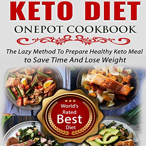 Keto Diet Onepot Cookbook Titelbild