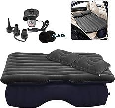 Zone Tech Inflatable Car Travel Air Mattress Back Seat – Pump Kit Premium Quality-..