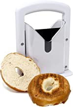 Bagel Slicer Guillotine | Perfectly Even Cut Bagels Every Time | Precision Slicer For Toasters | Bagel Cutter Kitchen Gifts & Gadgets | M&W