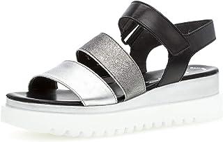 Gabor 23.610 Femme,Sandales compensées,Sandales,Sandales compensées,Chaussures d'été,Confortable,Plat,Best Fitting