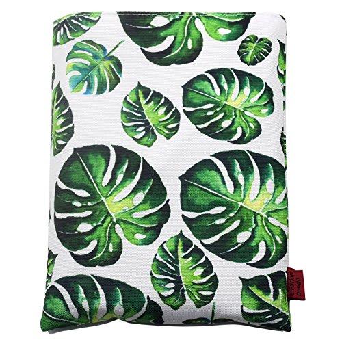 Cubierta para libro de hojas de árbol, tamaño mediano,