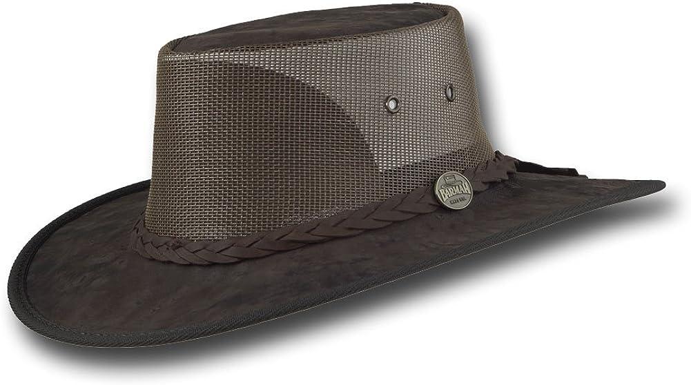 Barmah Hats Kangaroo Cooler Leather Hat - Item 1038