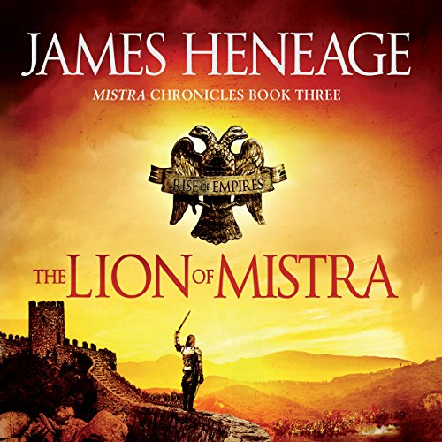 The Lion of Mistra audiobook cover art