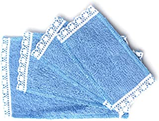 lace edged towels